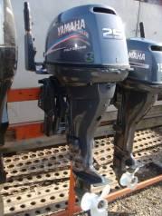 Yamaha. 25,00л.с., 4-тактный, бензиновый, нога L (508 мм), Год: 2007 год
