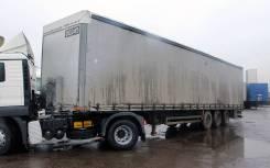 Humbaur. Полуприцеп Big One Type 2 шторный, 35 000 кг.