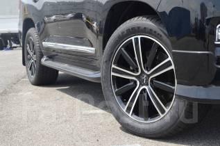 L-performance R20 x 9,5 5x150 Black/Polish на Land Cruiser 200 Новые. 9.5x20, 5x150.00, ET51, ЦО 110,0мм.