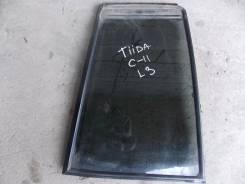 Стекло боковое. Nissan Tiida, C11, C11X