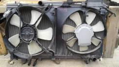 Радиатор Toyota Caldina ST198, АТ, 3S, 2001 г. (с диффуз), б/у