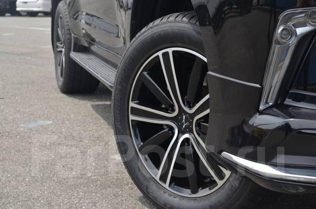 L-performance R20 x 9,5 5x150 Black/Polish на LX570 LX450 Lexus. 9.5x20, 5x150.00, ET51, ЦО 110,0мм.