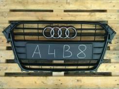 Решетка радиатора. Audi A4, 8K2, 8K5 Audi S4, 8K2, 8K5 Двигатели: 1Z, CAEA, CAEB, CAED, CDHA, CDNB, CDNC, CDUC, CEUA, CFKA, CGLC, CGLD, CGWC, CGXC, CJ...