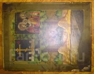 Очень редкая икона Божьей Матери «Ржевская» (Оковецкая). Оригинал. Под заказ