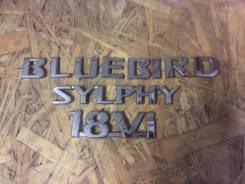 Эмблема. Nissan Bluebird Sylphy