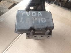 Блок abs. Nissan Tiida, C11, C11X