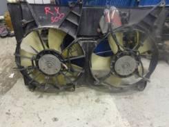 Вентилятор радиатора кондиционера. Lexus RX300 Двигатель 1MZFE