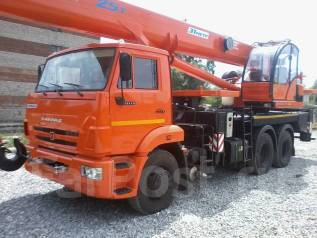 Клинцы КС-55713-1К. Продам новый автокран Клинцы КС 55713-1К-4 на шасси Камаз 65115, 6 700 куб. см., 25 000 кг., 31 м.