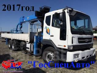 Daewoo Novus. 15.5тонн DongYang2725 - 2017года, 10 964 куб. см., 15 500 кг.
