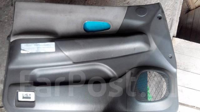 Обшивка двери. Mitsubishi Montero Mitsubishi Montero Sport, K86W, K89W, K96W, K99W Mitsubishi Pajero Sport Mitsubishi Challenger, K99W Двигатели: 6G72...