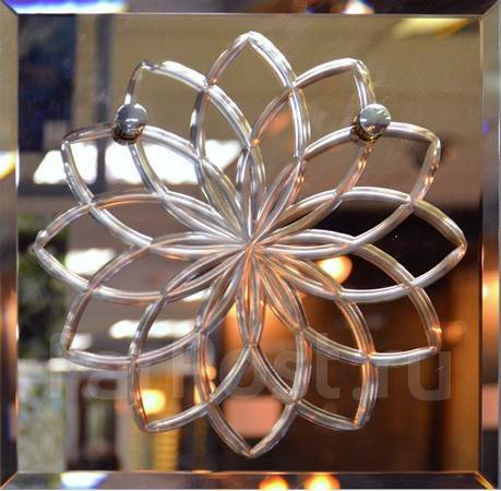 Профессиональная резка и обработка стекла, зеркал. Алмазная гравировка