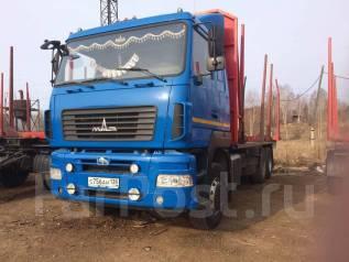 МАЗ. Продам сортиментовозы с прицепами, 11 950 куб. см., 33 500 кг.