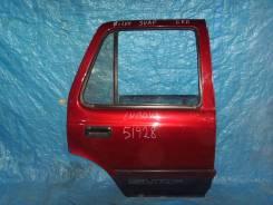 Дверь боковая. Toyota Hilux Surf, LN130W