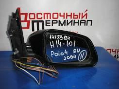 Зеркало заднего вида боковое. Volkswagen Polo, 9N3