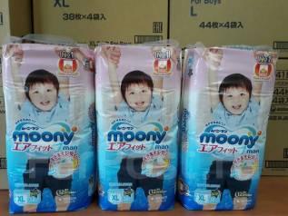 Moony. 12-17 кг 36 шт