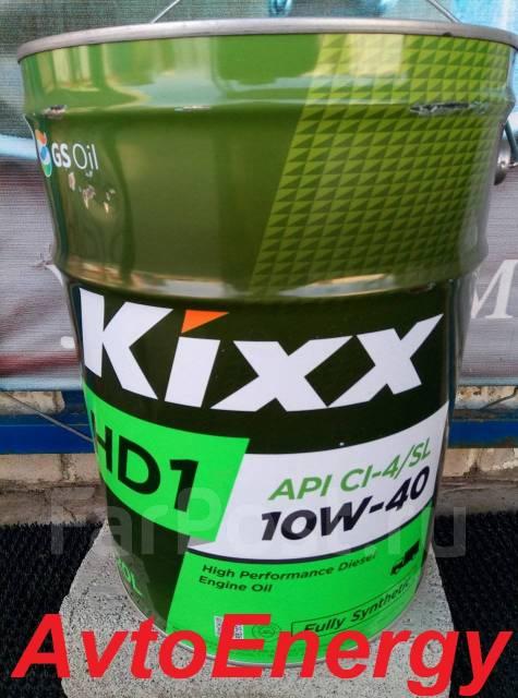 Kixx. 10W-40, синтетическое, 20,00л.