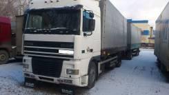 DAF XF 95. Продам Даф ХФ 95 2000 года с прицепом в Новосибирске, 12 000 куб. см., 15 000 кг.