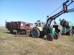ЮМЗ 6. Трактор с телегой, 3 000 куб. см.