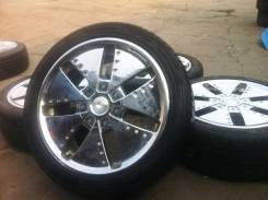 "Wheel Power. 7.0x17"", 5x100.00, 5x114.30, ET48"