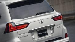 Спойлер на заднее стекло. Lexus LX450d, VDJ201 Lexus LX570 1VDFTV