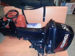 Лодочный мотор Tohatsu 18 л. с. 18,00л.с., 2х тактный, бензин, нога S (381 мм), Год: 2011 год
