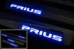 Накладка на порог. Toyota Prius. Под заказ