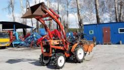 Kubota. Продается японский мини трактор бп по РФ с Фронтальником, 600 куб. см.