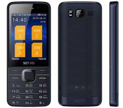 Телефон Servo 9500 на 4 sim. Новый