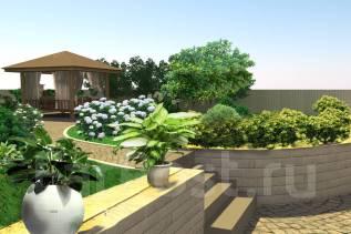 Ландшафтный дизайн под ключ! Проект и реализация!