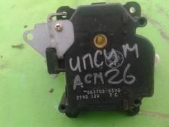 Сервопривод заслонок печки. Toyota Ipsum, ACM21, ACM26W, ACM26, ACM21W Двигатель 2AZFE