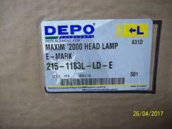 Левая фара Nissan Maxima 2000- DEPO 215-1183L-LD-E k