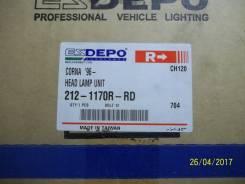 Фара правая Toyota Corona 96- DEPO 212-1170R-RD v