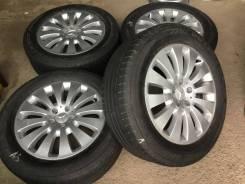 235/55R17 Bridgestone на литье Mercedes (К02). 7.5x17 5x112.00 ET47 ЦО 66,1мм.