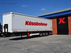 Kassbohrer. Новые полуприцепы борт-шторы Domestic, 32 200 кг.