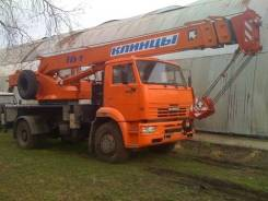 Клинцы КС-35719-8А. КС 35719-8А автокран 16т. (Камаз-53605), 100 куб. см., 16 000 кг., 18 м.