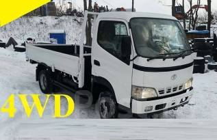 Toyota Dyna. 4WD, борт 3 тонны, 4 600куб. см., 3 000кг.
