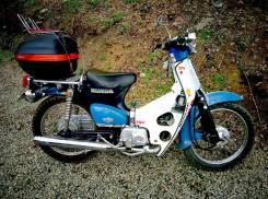 Honda Super Cub. 50 куб. см., исправен, без птс, с пробегом