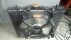 Радиатор охлаждения двигателя. Mitsubishi Pajero Mini, H58A Двигатель 4A30