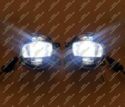 Фара противотуманная. Nissan Tiida Latio