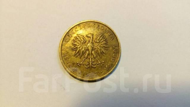 5 злотых 1987 год польша монетка молдавии 25 бани 2011 год сколько стоит