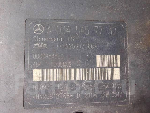 Блок abs. Mercedes-Benz C-Class, W203 Двигатели: M271DE18AL, M271E18ML, M271E18ML1, M271E18MLLR, M271E20, M271KE18ML, M271DE18EVO, M271KE16ML, M271DE1...