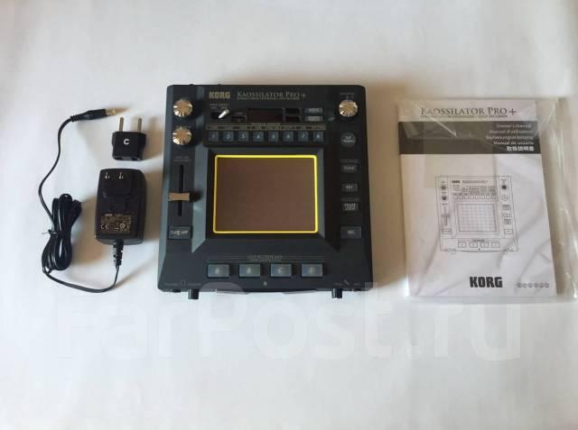 Синтезатор KORG Kaossilator Pro Plus из Японии + Korg-адаптер на 220V!. Под заказ