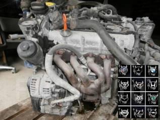 Двигатель в сборе. Volkswagen Passat Двигатель BLF