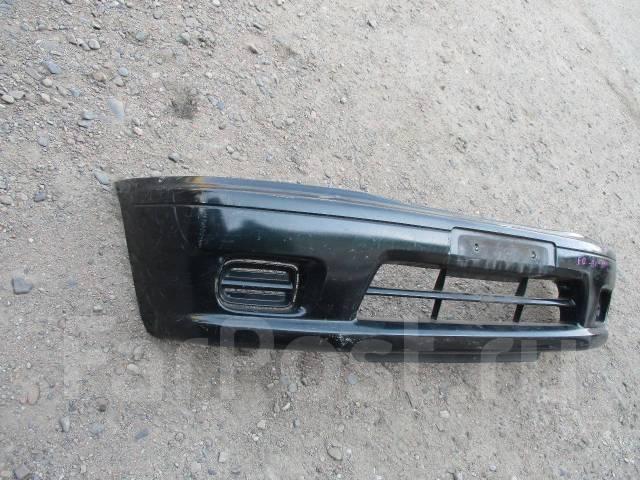 передний бампер mazda demio