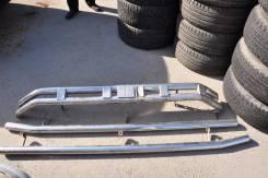 Защита переднего бампера и пороги Land Cruiser 200