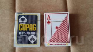Игральные карты Texas Holdem из 100% пластика!