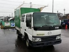 Mazda Titan. 2х кабинник с двигателем WL, 4вд!, 2 500 куб. см., 1 000 кг. Под заказ