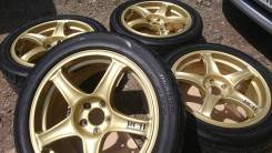 Advan Racing. 7.5x17, 5x100.00, ET35