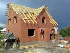 Строительство домов из газоблоков, бруса, кирпича и т. д