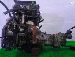 Двигатель в сборе. Suzuki: Alto, Every, Kei, Carry Truck, Cappuccino, Cara, Cervo, Wagon R, Works, Jimny Двигатель F6A